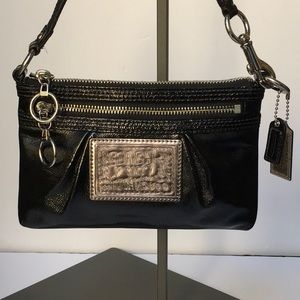 COACH POPPY Black Small Bag